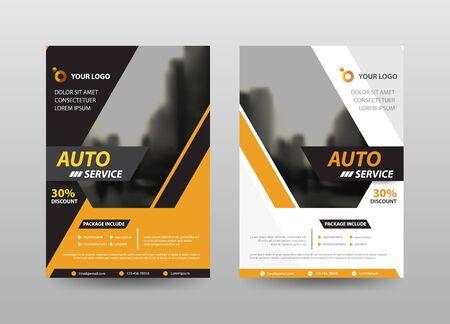 Foto für Abstract flyer annual report Brochure design template vector. Business Flyers infographic magazine poster.Abstract layout template ,Book Cover presentation portfolio. - Lizenzfreies Bild