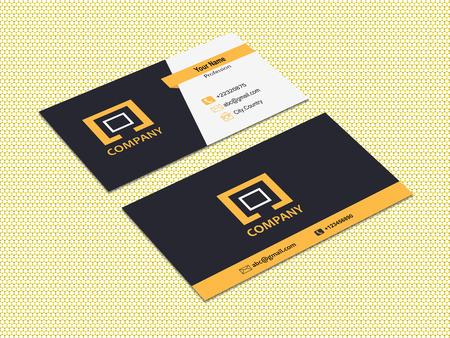 Photo pour Business Card Design - image libre de droit