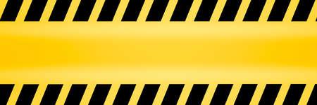 Foto de Caution lines backgrounds Worn hazard stripes Warning tapes Danger signs - Imagen libre de derechos