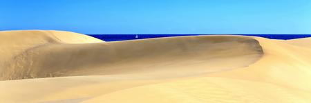On the beach of Playa Del Ingl