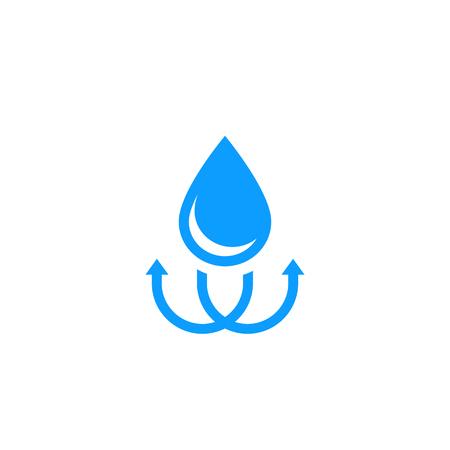 Illustration pour waterproof, water resistant sign - image libre de droit