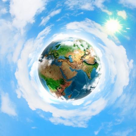 Foto de earth planet - Imagen libre de derechos