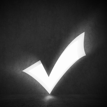 background image of white check mark  Voting