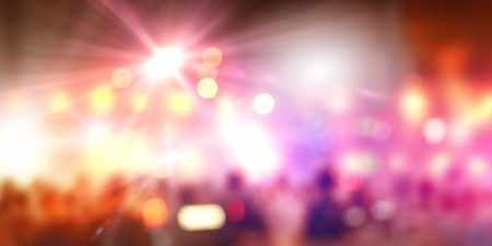 Background image with blurs and lights  Party concept