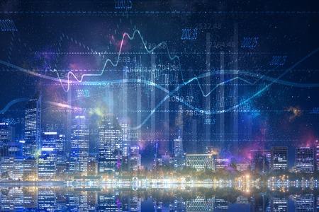 Photo pour Financial consulting concept - image libre de droit