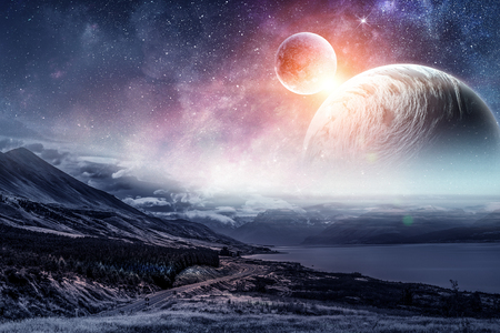 Photo for Space planets and nature - Royalty Free Image