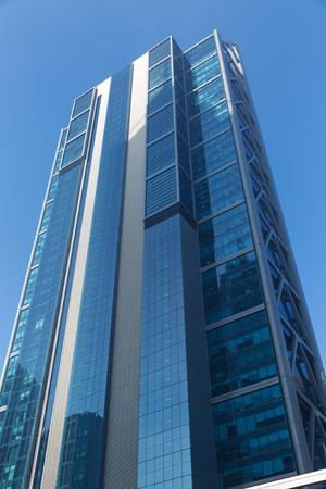 Foto de Skyscraper bottom view - Imagen libre de derechos