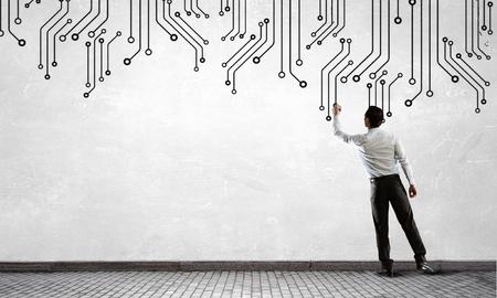 Photo pour IT and engineering - image libre de droit