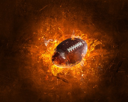 Photo for American football game concept. Mixed media - Royalty Free Image