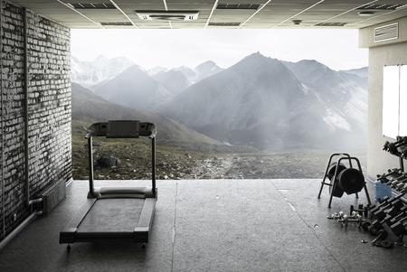 Photo pour Treadmill at home - image libre de droit