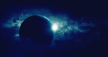 Foto de Image of outer space. . Mixed media - Imagen libre de derechos