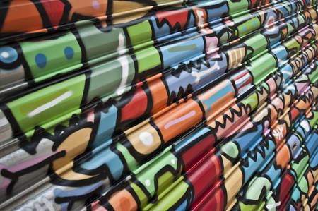 urban art - abstract