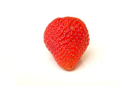 Photo pour Strawberry isolates on white background - image libre de droit