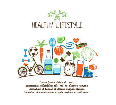 Photo pour healthy lifestyles - image libre de droit