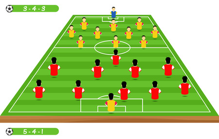 soccer player tactical position