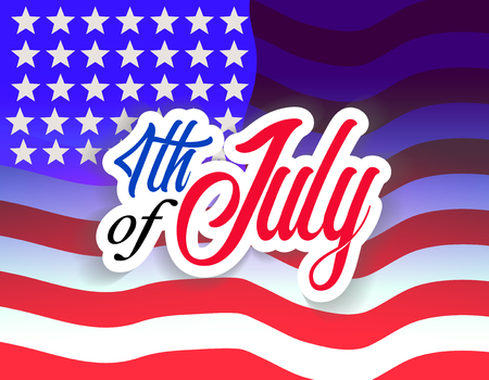 Happy Fourth of July Independence Day USA Celebrate