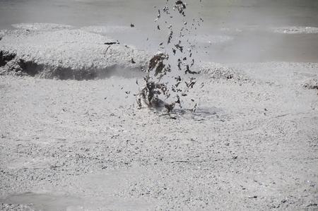 Mud volcano erruption