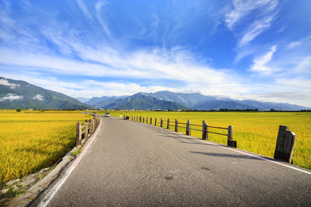 Photo for The beauty of the farmland in Taitung Taiwan for adv or others purpose use - Royalty Free Image