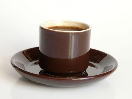 A close up of a cup of Espresso