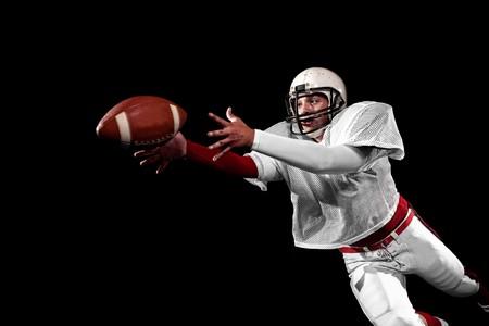 Photo pour American football player. - image libre de droit