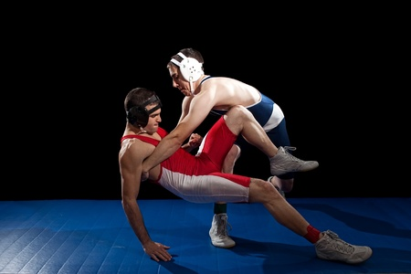Photo pour Wrestling - image libre de droit