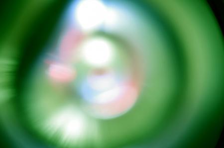 Photo pour Blurred lights in circle - image libre de droit