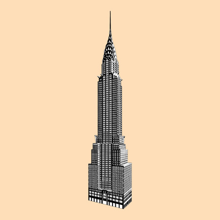 New York famous Empire State Building