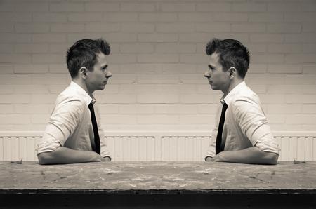 Photo pour mirroring in communication - image libre de droit