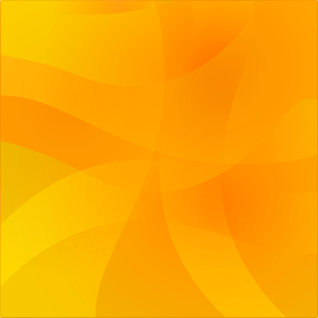 Illustration for Abstract wavy yellow warm background. Colorful glow gradient surface for design. - Royalty Free Image