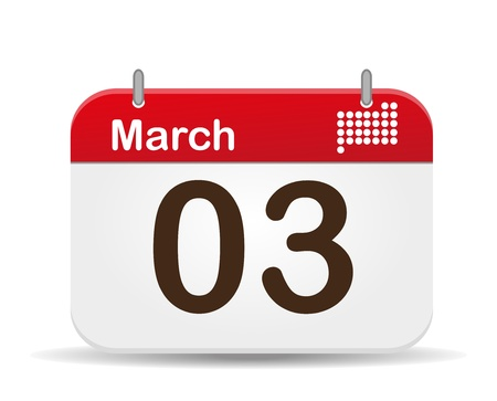 03 March Calendar,US National Anthem´s Day