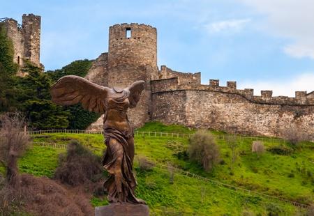 Replica of Victoria de Samotracia in Ponferrada, Spain