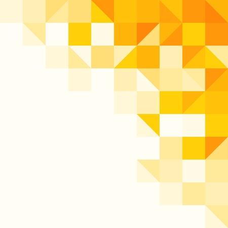 Illustration pour Yellow Abstract Pattern - image libre de droit