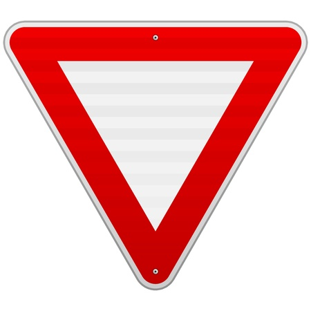 Yield Triangle Sign