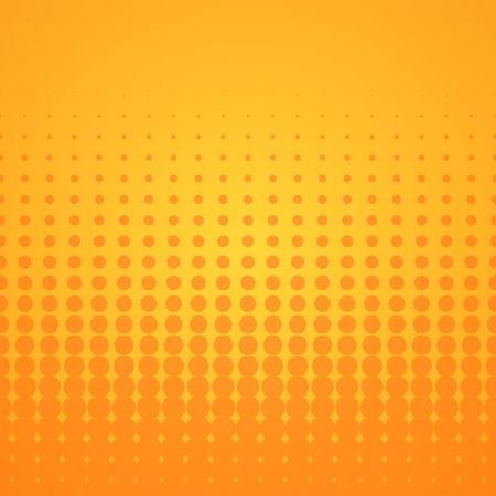 Orange Halftone Pattern