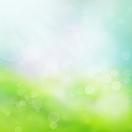 Spring bokeh background