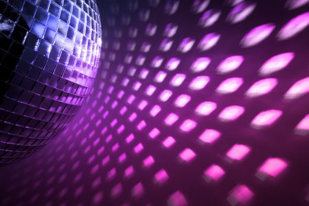 purple disco lights backdrop