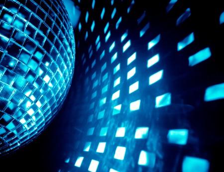 blue disco background