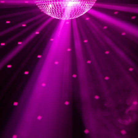 Photo for purple party background - Royalty Free Image