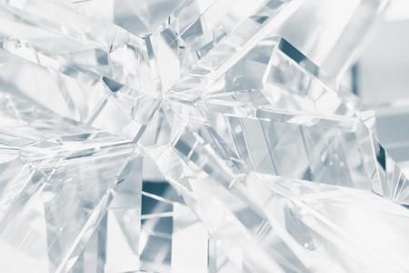 Photo pour crystal refractions background - image libre de droit
