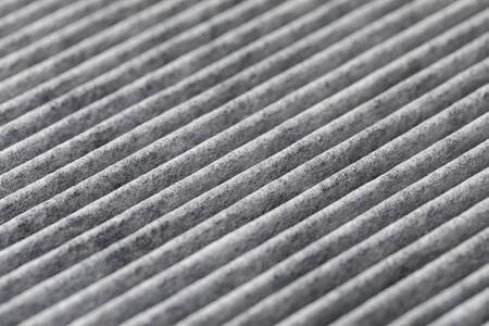 Photo pour carbon air filter for car ventilation system - image libre de droit