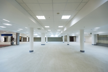 ground floor hall of office building