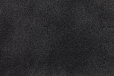 Photo pour Black suede fabric closeup. Velvet texture background - image libre de droit