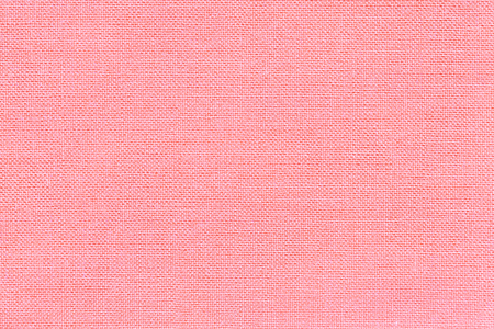 Photo for Light pink background from a textile material with wicker pattern, closeup. Structure of the rose fabric with natural texture. Cloth backdrop. - Royalty Free Image