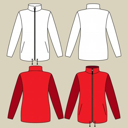 Illustration of a sportswear