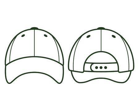 baseball blank cap