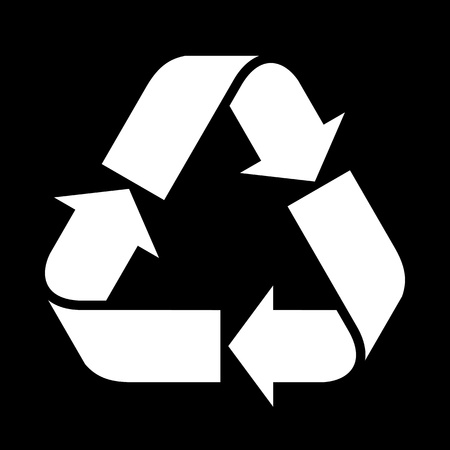 Recycled paper symbol