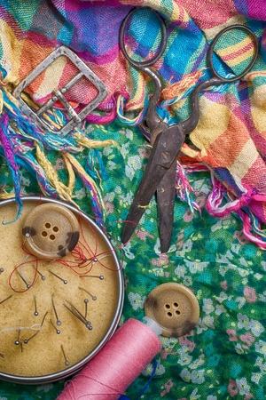 set of seamstress for needlework