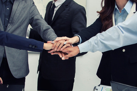 Business concept. Team work.