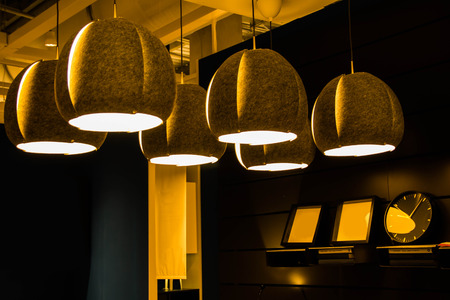Photo for modern Ceiling lamps for interior decoration - Royalty Free Image