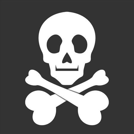 Illustration pour skull icon - image libre de droit